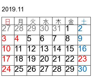 cal201911